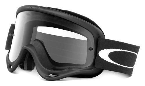 Preisvergleich Produktbild Oakley Sonnenbrille Brille MX O Frame Fahrrad oder Motorrad Schwarz/Transparent