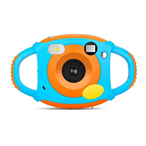 GordVE Digitalkamera für Kinder, WiFi-Kamera, HD1080P, 5 m, mit 1,77 Zoll LCD, 7 Farbfiltereffekt, Blitz und Mikrofon für Kinder, Mädchen und Jungen