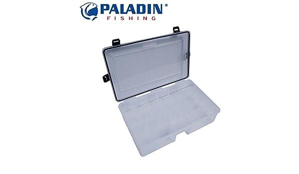Paladin Angelbox mit Gummidichtung 35x22x10cm Tacklebox für Kunstköder