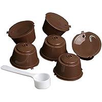LINAE - Filtros de café – tazas/juego de cápsulas de plástico para café recargables