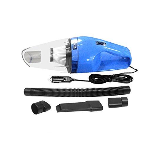 Aspirador de Mano con Cable, 24V 120W Potente adsorción de ciclones portátil Recargable portátil de Mano y aspiradora aspiradora