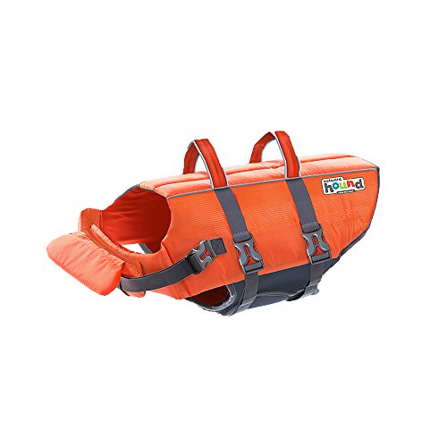 Kyjen 22019 Outward Hound Ripstop Quick Release Easy Fit Rettungsweste für Hunde, verstellbar, Größe S, orange (Dog Life Jacket Extra Klein)