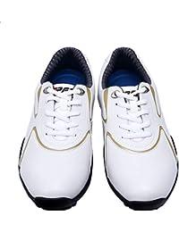 FUBULE Zapatos de Golf Picos Menos Zapatos Impermeable Antideslizante Ligero Resistente al Desgaste multifunción Exterior