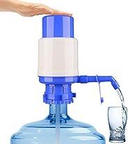 Water Bottles Pump Blue Manual Hand Pressure Drinking Fountain Pressure Pump Water Press Pump with an Extra Sh