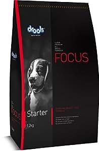 Drools Focus Starter, Super Premium Dog Food, 1.2kg