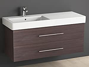 aqua bagno meubles salle de bains 120 cm avec lavabo en. Black Bedroom Furniture Sets. Home Design Ideas