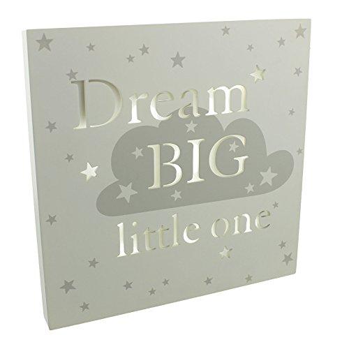 Bambino Light Up Wall Plaque - Dream Big