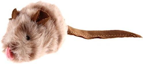 GiGwi Katzenspielzeug Melody Chaser mit bewegungsabhängigen Geräuschen, aus flauschigem Plüsch