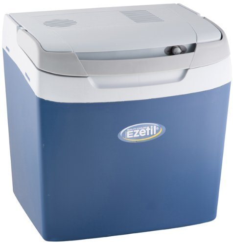 Preisvergleich Produktbild EZetil E26M Thermoelektrische Kühlbox 12/230V, manueller Regler, Blau/Hellblau
