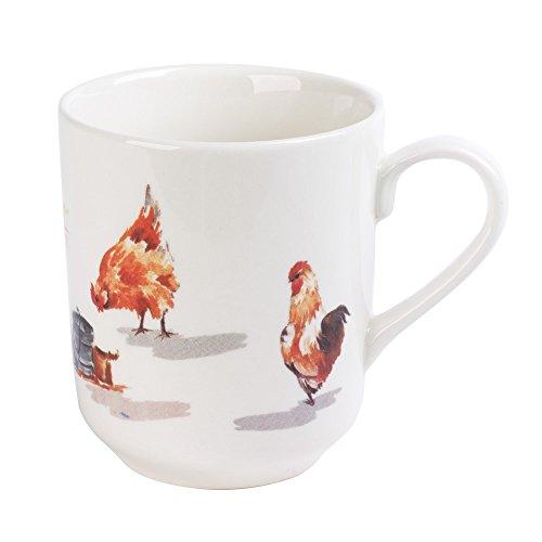 Table Passion - Mug 37 cl poule campagne (lot de 6)