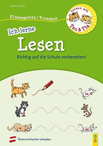 Lernen mit Teo und Tia - Ich lerne Lesen - Kindergarten/Vorschule: RICHTIG auf die Schule vorbereiten!