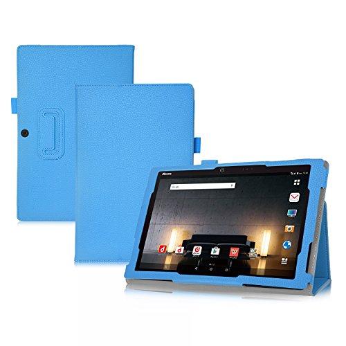 iBetter Acer Iconia Talk S (A1-743) Hülle Case, Slim Fit Folio Premium PU Kunstleder Schutzhülle Tasche Etui Smart Cover mit Ständerfunktion für Acer Iconia Talk S (A1-743) Zoll Tablet-PC,Blau