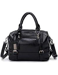 7df606460985 Meceo Handbag Femmes Grande Capacité Fonctionnel Porte Document Multi-Usage  Cuir PU Travail Sac à