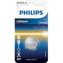 Philips CR2032/01b - Pila de botón (lithium metal)