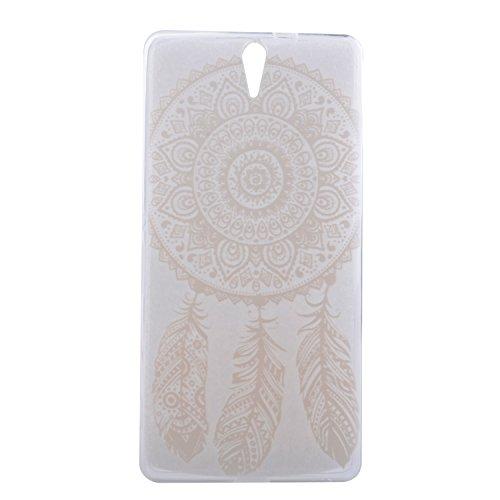 Voguecase® Per Apple iPhone 5 5G 5S, Custodia Silicone Morbido Flessibile TPU Custodia Case Cover Protettivo Skin Caso (Pinguino con palloncini) Con Stilo Penna pizzo piuma