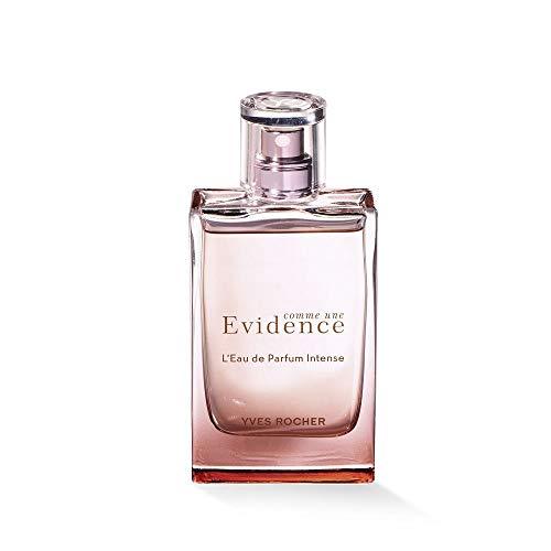 Yves Rocher COMME UNE EVIDENCE Eau de Parfum Intense, blumiges Parfüm mit Rose, weißen Hölzern & Jasmin, 1 x Zerstäuber 50 ml