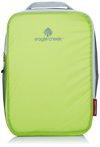 Eagle Creek Packtasche Pack-It Specter Compression Cube platzsparende Kofferorganizer für die Reise, M, grün