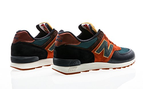 New Balance M576 YP Navy Green Brown Blue