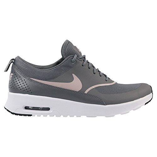 Nike Damen Air Max Thea Sneaker, Grau (Gunsmoke/Particle Rose-Black 029), 40 EU