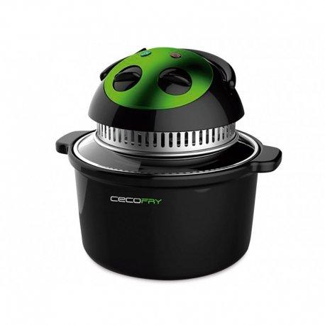 Cecofry Freidora dietética Compact sin Aceite, 1000 W, 5 litros, Negro