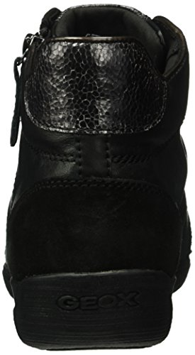 Geox Damen D Myria D High-Top Schwarz (Blackc9999)