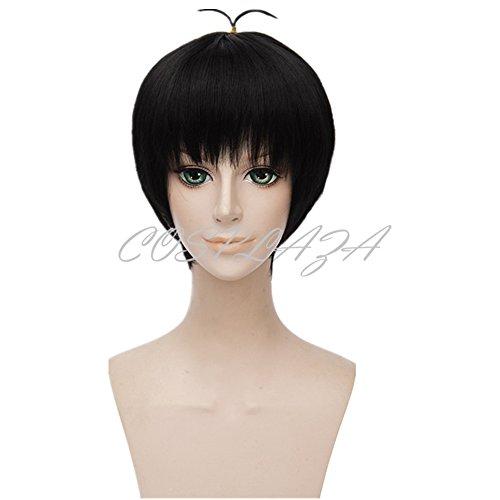 somatsu-San Osomatsu San Schwarz kurz Junge Cosplay Wigs Karneval Haar ()
