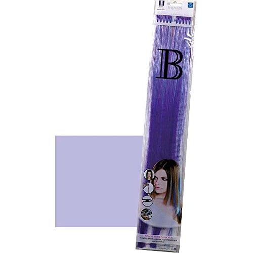 Balmain Fill-In Extensions Straight Fantasy Fiber Hair - Light Purple (Light Purple Extensions Hair)