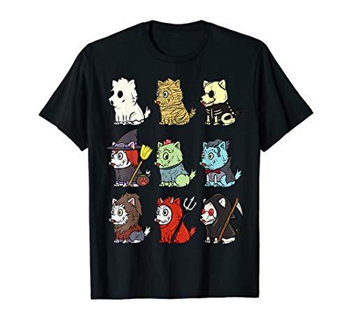 Hunde Kostüm Für Westies - Westie Gruselige Kostüme Lustiger Hund Halloween Geschenk  T-Shirt