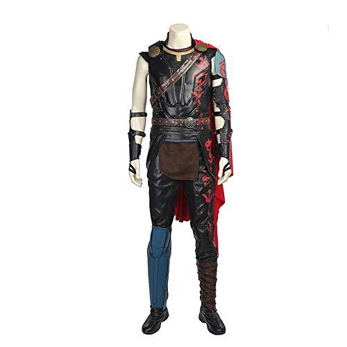 Erwachsener Mann Halloween Thor Thor Rüstung Kostüm Marvel Sol Film Cosplay,XXL