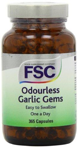 FSC One A Day Garlic Gems 365 Capsules Test