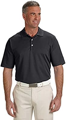adidas Golf Polo Climalite (R) sólido > negro A170