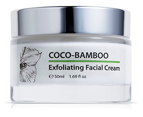 Green Keratin Coco-Bamboo-Peeling Gesichtspeeling