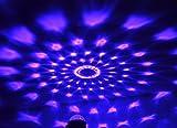 Coidea Disco Lichteffekte LED DiscoLicht Partylicht Discokugel Disco Beleuchtung Partybeleuchtung Party licht Discolicht Bühnenbeleuchtung- 7 Farbe RGB Led Effekt DJ Licht Diskokugel Lampe für Disco, Geburtstag party,Xmas,Hochzeit, KTV, Weihnachten, Weihnachtsgeschenk ,Geschenk des neuen Jahres,Halloween,Zimmer, Bar,Bühne,Karaoke,Schlafzimmer,Club, Partei,Draussen(mit Fernbedienung) von Coidea Bild 5