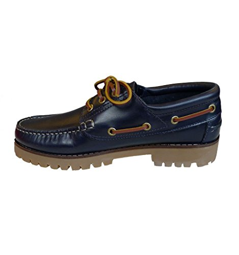 Privata , Chaussures bateau pour homme Bleu - Azul