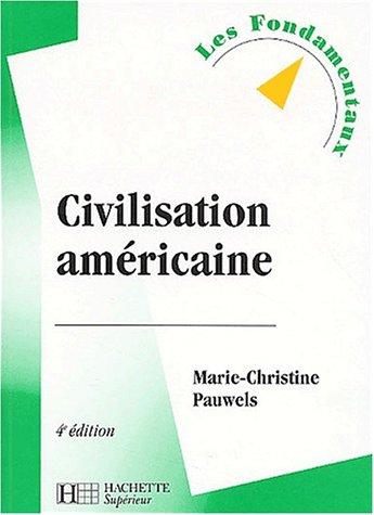 La Civilisation américaine, édition 2003