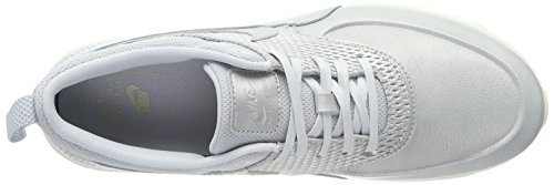 Nike Damen Air Max Thea Premium Leather Sneaker Silber (Dark Stucco-Sail)