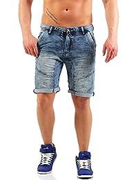 Urban Surface Herren 5-Pocket Jogg Jeans Shorts LUS-103