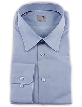 Seidensticker Herren Langarm Hemd Schwarze Rose Slim Fit Louis blau 223370.15