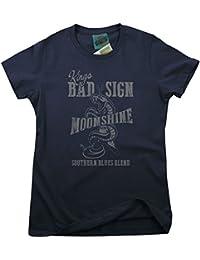 Bathroom Wall Albert King Inspired Born Under A Bad Sign Moonshine, Women's T-Shirt