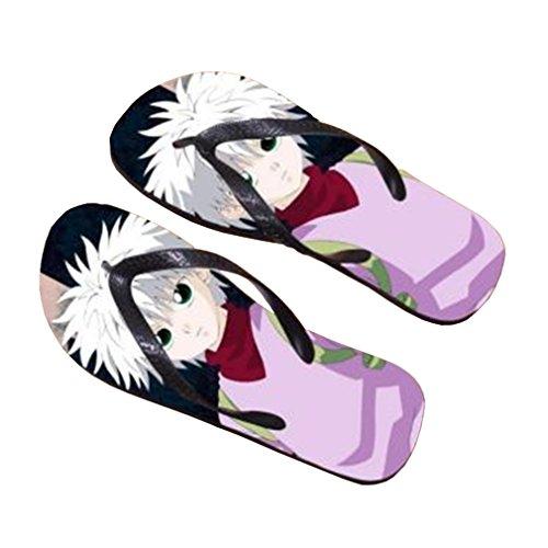 Bromeo Hunter X Hunter Anime Unisex Flip Flops Zehentrenner Flip Pantoffeln 932
