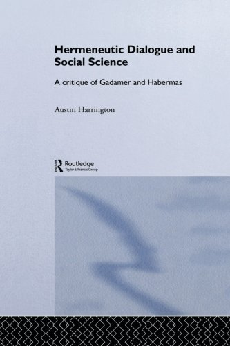 Hermeneutic Dialogue and Social Science (Routledge Studies in Social and Political Thought) by Austin Harrington (2013-12-16)