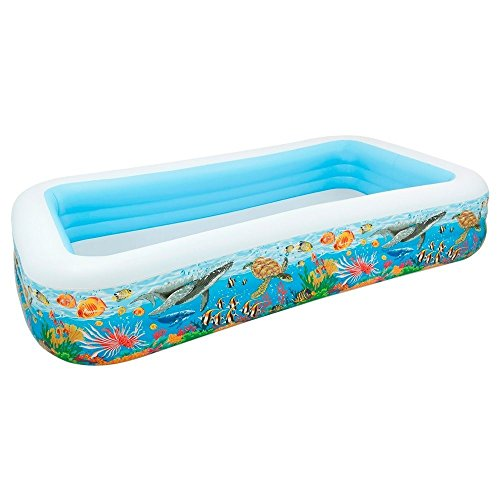 INTEX - PISCINA HINCHABLE  305 X 183 X 56 CM  999 L  DISEñO TROPICAL (58485NP)
