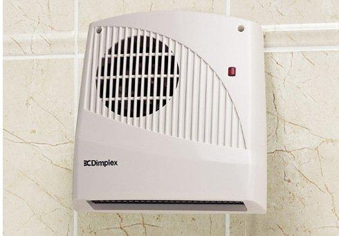 Dimplex FX20V Wall Mounted Fan Heater 2KW