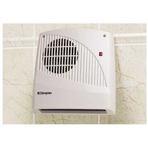 41Y2AYPTPCL. SS500  - Dimplex FX20V Wall Mounted Fan Heater 2KW, 2000 W, White