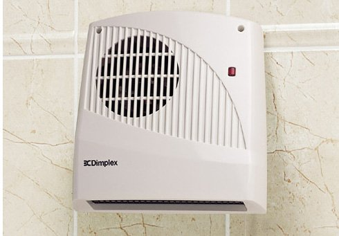 41Y2AYPTPCL - Dimplex FX20V Wall Mounted Fan Heater 2KW, 2000 W, White