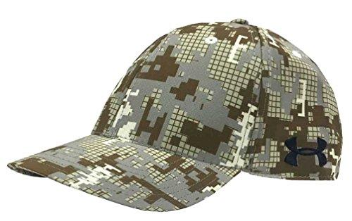 Camo Armour Golf Under (Under Armour Digi Camo Golf Cap Hat Gebogene Bill, weiß/Digi Camo. 1285134–280, Herren, White/Camo)
