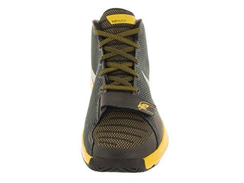 Nike Kd Trey 5 Iii, Scarpe da Basket Uomo Il nero / argento / giallo (Black / Metallic Silver-Tr YLLW)