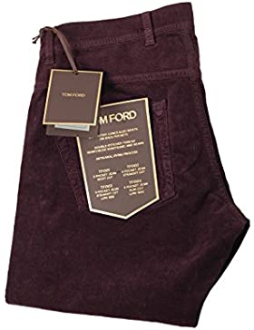 CL - TOM FORD Aubergine Jeans TFD003 Size 48 / 32 U.S.