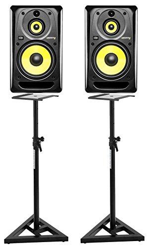KRK RP10-3 G3 Studio Monitor Stativ Set (2 aktive Studio Monitore inklusive...