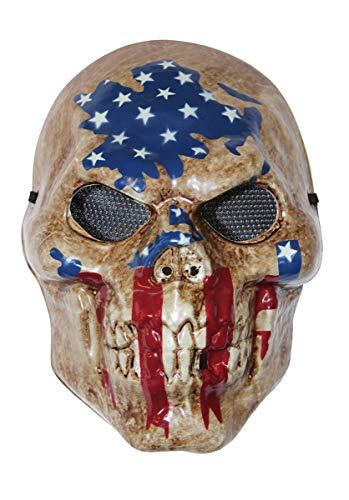 Erwachsene, Sinister-Flagge, The Purge-Film, Halloween, Kostüm-Zubehör ()
